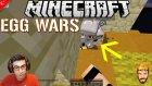 Korkudan Kaçtılar!! | Minecraft Egg Wars Türkçe | Bölüm 12