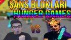 Kundumcu vs Takleji | Minecraft Şans Blokları Hunger Games #7