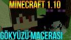 Minecraft 1.10 | Minecraft Türkçe Survival - Gökyüzü Macerası #7