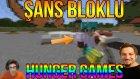 Minecraft Şans Blokları Hunger Games - Oyun Portal İçini Döküyor!