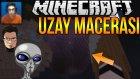 Uzayda Mahsur Kaldık! | Minecraft Survival - Uzay Macerası #1