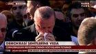 Cumhurbaşkanı Erdoğan'ın Cenazede Gözyaşları Sel oldu Hüngür Hüngür Ağladı