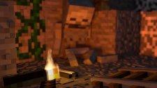 Minecraft Fire of Torch Test Animation & Blender | HG Animation