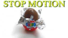 Kinder Sürpriz Yumurta Stop Motion Açılışı | Kinder Surprise Stop Motion