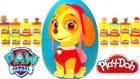 Paw Patrol Skye Dev Sürpriz Yumurta Oyun Hamuru - Paw Patrol Oyuncakları Cicibiciler