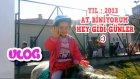 Vlog - Melike 6 Yaşında At Biniyor - Yıl 2013 Aile Video Arşivimizden