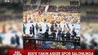 800 Darbeci Asker Yarı Çıplak Spor Salonunda Gözaltında!