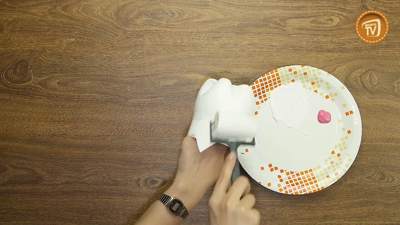Pet Şişeden Dekoratif Perde Yapımı