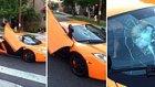 250,000 Dolarlık McLaren'in Camına Sinek Gibi Yapışan Kaykaycı