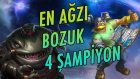 Ağzı En Bozuk 4 League Of Legends Şampiyonu