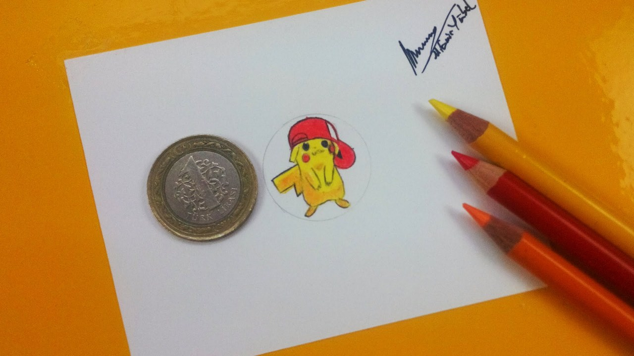 Bozuk Para Boyutunda Pikachu 199 Izmek Pokemon Amp Pokemon Go