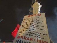 Bursa'da FETÖ'ye Temsili İdam