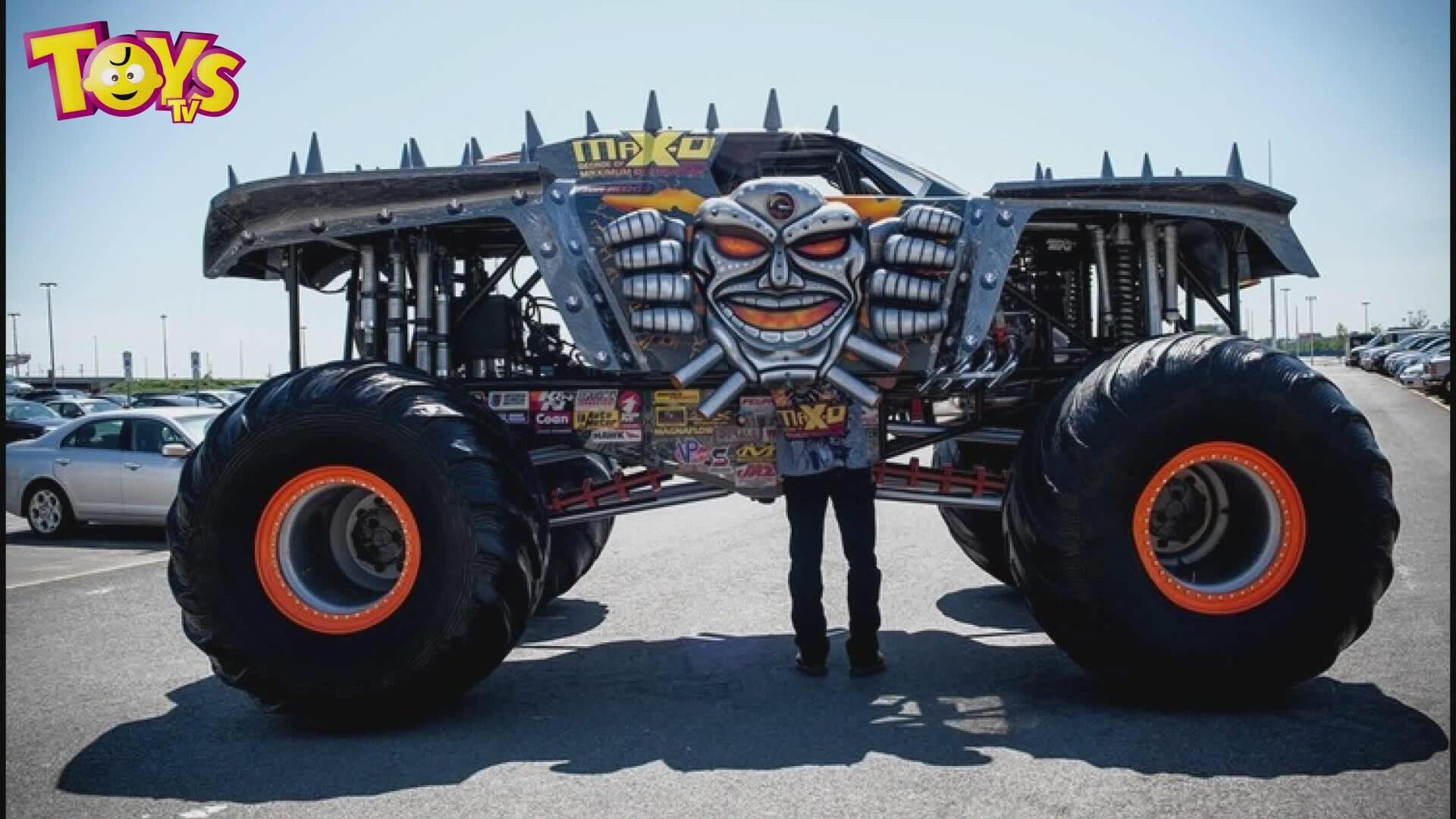 Canavar Arabalar Kamyonlar Toystv De Monster Trucks Clip On
