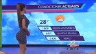Meksika Yerel TV'de Hava Durumu Sunan Bayan Popo