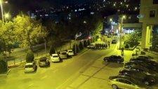 Ak Parti İstanbul İl Başkanlığına Baskın Kamerada