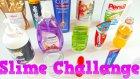 Slime Challenge Dünya'da ilk 15 Farklı Karışım Yine de Slime Oldu