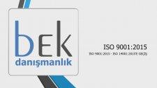 ISO 90012015 ISO 140012015'E GEÇİŞ