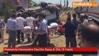 Manisa'da Hemzemin Geçitte Kaza: 6 Ölü, 15 Yaralı