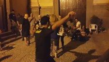 İtalya'nın Yöresel Müziği Eşilğinde Harmandalı Oynayan Türk