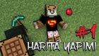 Minecraft: Harita Yapımı - Bölüm 1 - Lobiden Başlıyoruz Efenim