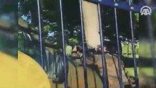 Beştepede Darbeci Askerlerle Güvenlik Güçleri Arasındaki Çatışmaya Ait Yeni Görüntü