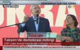 Kemal Kılıçdaroğlu'ndan 10 Maddelik Taksim Manifestosu
