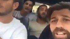 Beşiktaşlı futbolcular 'Günah benim suç benim' şarkısını söyledi