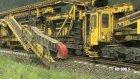 Devasa Tren Yolu Döşeme Makinesi