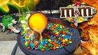 M&M's Şekerlerine Eritilmiş Bakır Dökülürse Ne Olur?