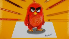 3D Angry Bird Çizimi | Çizim Nasıl Yapılır?