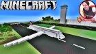 Uçak Havalimanı Yaptık | Minecraft Yapıları | Bölüm 7 - Oyun Portal