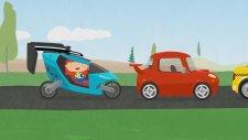 Dr Mcwheelie And Flying Car - Mutlu Cocuk