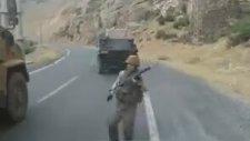 Hakkari Çukurca PKK'lı Teröristlerin Saldırı Anı  (30 Temmuz 2016)