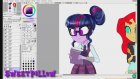 Speed Paint ~ Friendship Games ~ Equestria Girls