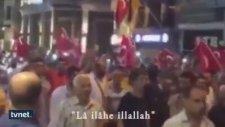 Taksim'de Mekke'nin Fethin'de Söylenen Marş