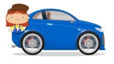 Eğitici çizgi film - Doktor Mac Wheelie - Aşırı hızlı giden araba kaza yapıyor