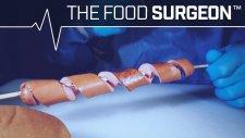 Ağız Suyu Aktıran Hot Dog Yapımı