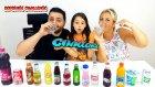 Beverage Smoothie Challenge Serkan Vs Sibel