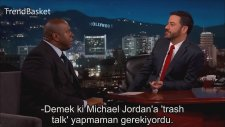 Magic Johnson'ın Michael Jordan'a Trash Talk Yapması