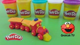 Play-Doh Oyun Hamuru İle Tren Yapımı