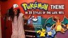 Efsane Pokemon Müziği 90'ların 20 Farklı Müzik Tarzıyla Buluştu