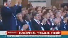 TUSKON DARBE TOPLASINDA ALKIŞ TUTAN BİRÇOK İŞADAMI HALENYAKALANMADI MALLARINA ŞİRKETLERİNE ELKONMADI