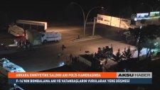 Ankara Emniyet Müdürlüğü'ne Saldırı Anı Polis Kamerasında