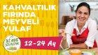 Bebekler İçin Kahvaltılık Fırında Meyveli Yulaf Nasıl Yapılır? (12-24 Ay) | İki Anne Bir Mutfak