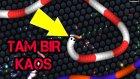 Slither.io Oyununda Devler İle Kapıştık Minikler İle Karşılaştık :)