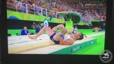 Atlayış Esnasında Ayağını Kıran Fransız Jimnastikçi - Rio 2016