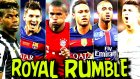 Dünya Yıldızlarıyla Futbolcularla Royal Rumble