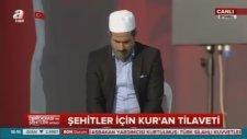 Yenikapı'da Şehitler için Kur'an Tilaveti!