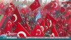 Cumhurbaşkanı Erdoğan, Yenikapı Demokrasi Mitingine Müthiş Coşkulu Karşılama
