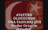 Serdar Ortaç'tan Mustafa Kemal Atatürk'e Şiir